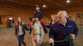 How horseback riding changes the lives of kids with special needs