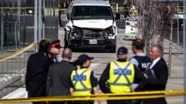Toronto van attack: At least 10 dead, 15 injured as driver rams pedestrians