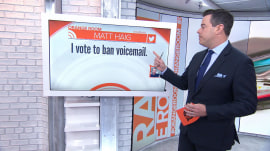 Should voicemail be banned? TODAY viewers say…