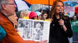 Watch Hoda Kotb's high school classmates surprise her on TODAY plaza