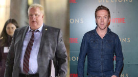 Damian Lewis is unrecognizable playing late mayor Rob Ford of Toronto