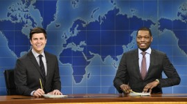 Michael Che and Colin Jost of 'SNL' will host the Emmys
