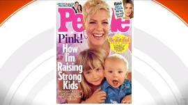 Pink is on the cover of People magazine's 'Beautiful' issue