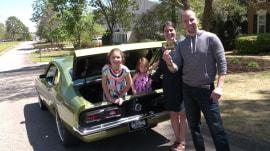 Meet the lucky winner of a restored 1974 Mercury Comet GT