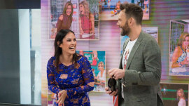 See highlights of Joel McHale's feud with Donnadorable