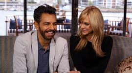 Anna Faris and Eugenio Derbez talk about 'Overboard' remake