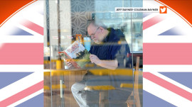 Internet loves viral photo of Meghan Markle's dad reading about Britain