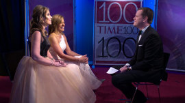 Savannah Guthrie and Hoda Kotb attend the TIME 100 gala