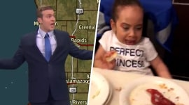 Highs and Lows: Angry weatherman, crawfish surprise on dinner plate