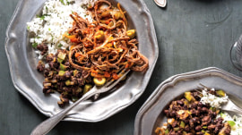 Make Natalie Morales' ropa vieja in a slow cooker