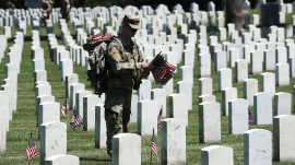 With 30 burials a day, Arlington National Cemetery is running out of space