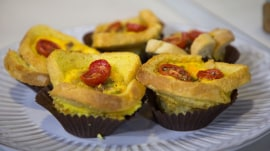 Breakfast casserole cupcakes: Elizabeth Chambers Hammer serves up a perfect Mother's Day meal