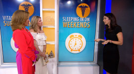 Why it's OK to sleep in on weekends: Dr. Natalie Azar explains