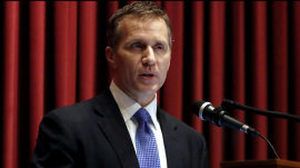 Missouri Gov. Eric Greitens' accuser speaks out publicly for the first time