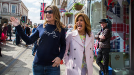 Royal wedding: Savannah and Hoda hit the streets of Windsor