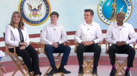 Meet the quadruplets who will serve in 4 different military branches
