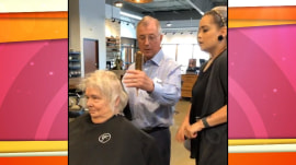 Husband learns hairstyling to help his wife after her stroke