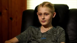 'Miracle boy' Trenton McKinley wakes from coma just before organ harvesting