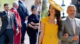 Royal Wedding: Clooneys, Beckhams arrive at Windsor Castle