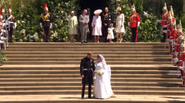 Royal Wedding: Duke and Duchess of Sussex leave St. George's Chapel