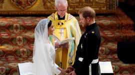 Royal Wedding: Prince Harry, Meghan exchange vows