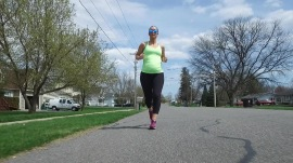 Meet the mom-to-be who's running throughout her pregnancy