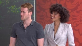 Stars of Lifetime's 'Harry and Meghan' visit TODAY
