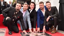 NSYNC get a star on Hollywood Walk of Fame