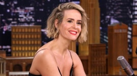 Watch Sarah Paulson do her best Drew Barrymore impression