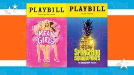 'Mean Girls,' 'SpongeBob' lead Tony nominations with 12 apiece