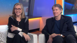 Meredith Vieira and Richard Cohen talk about 'Chasing Hope' for MS