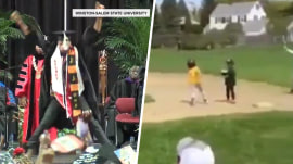 Highs and Lows: Graduating with style, little leaguer's epic 'homerun'