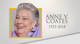 Life well lived: Oscar-winning film editor Anne Coates dies at 92