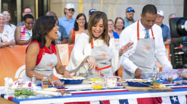 Elizabeth Heiskell makes quiche, PB&J wings, patriotic shortcakes for July 4th