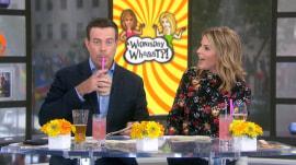 Jenna Bush Hager and Carson Daly taste-test hummus milkshakes