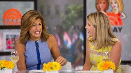 Hoda Kotb and Jenna Bush Hager celebrate National Martini Day