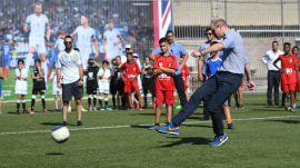 Royal Roundup: Prince William gets a footvolley lesson in Israel!