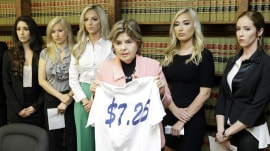 5 former cheerleaders sue Houston Texans over harassment, low pay