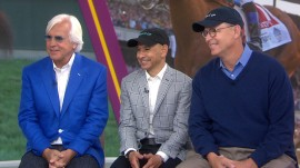 Justify's team speak out on his Triple Crown victory at Belmont
