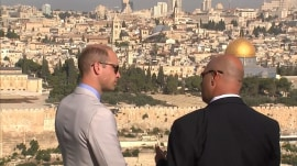 Prince William visits holy sites in Jerusalem during historic Middle East tour
