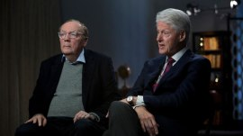 Bill Clinton and James Patterson on their thriller, 'The President Is Missing'