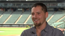 White Sox pitcher Danny Farquhar speaks out about brain hemorrhage