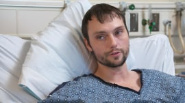 Injured father warns of e-cigarette battery explosions