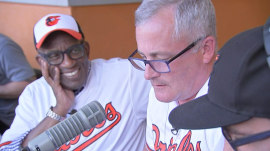 Al Roker makes lifelong Orioles fan's dream come true for Father's Day