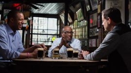 Al Roker, Carson Daly, Craig Melvin talk fatherhood (over beer)