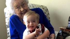 New Gerber baby meets the original one (who's now 91!)