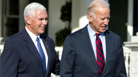 Author looks at vice presidents in new book, including Mike Pence and Joe Biden