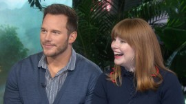 'Jurassic' stars Chris Pratt and Bryce Dallas Howard visit TODAY
