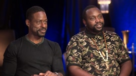Sterling K. Brown and Brian Tyree Henry on new thriller 'Hotel Artemis'