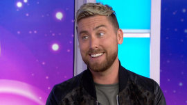 'I can't wait for our kids to be here with us!': Lance Bass announces he and husband have found a surrogate